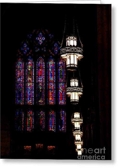 Leading Light Greeting Card by Emily Kay