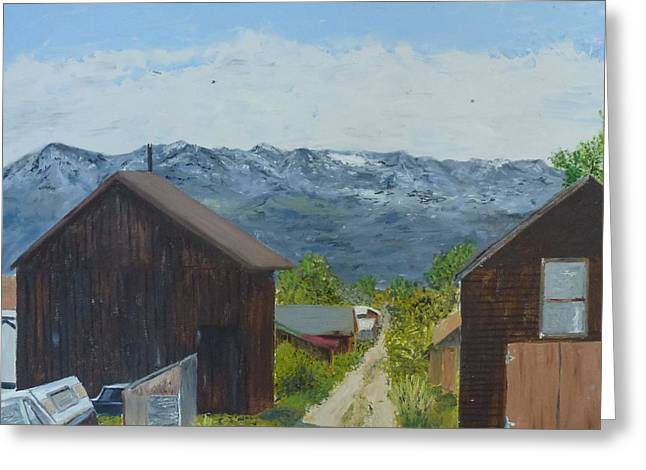 Leadville 2 Greeting Card by John Terry
