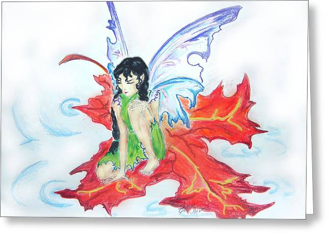 Leaf Fairy Greeting Card