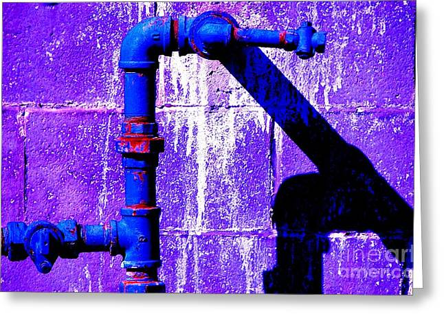 Greeting Card featuring the photograph Leaky Faucet IIi by Christiane Hellner-OBrien