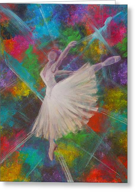 Leap Into Color Greeting Card