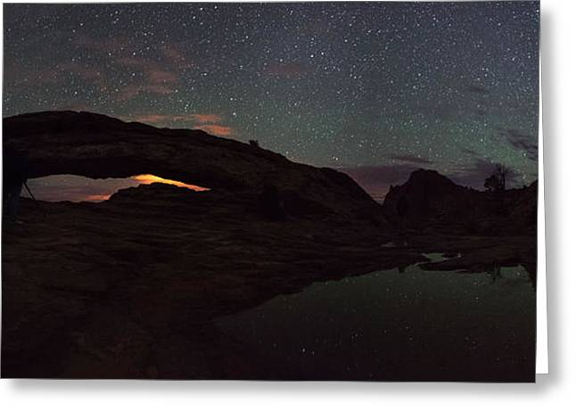 Learn To Shoot Milky Way Stars Greeting Card by Mike Berenson