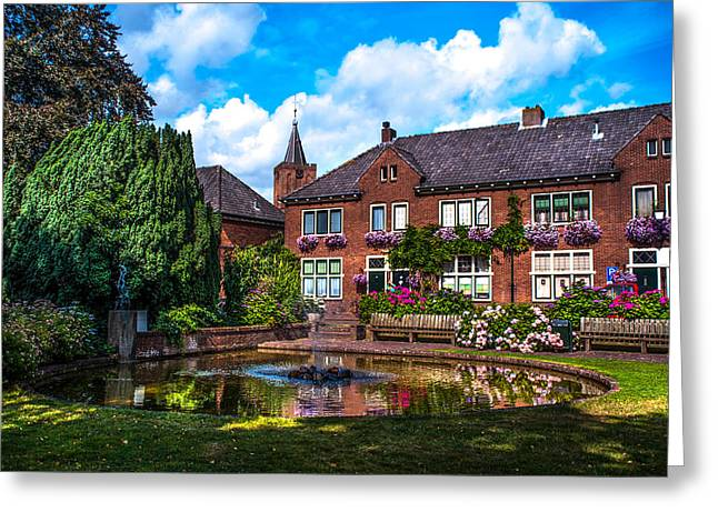 Leasure Day In Naarden. Netherlands Greeting Card by Jenny Rainbow