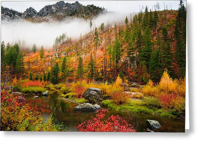 Leavenworth Colors Palette Greeting Card