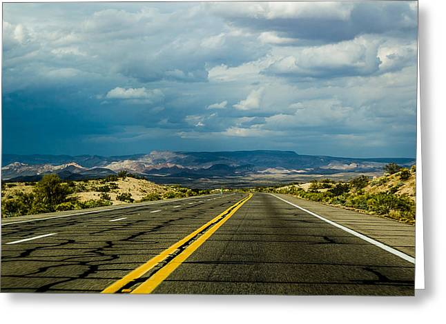 Greeting Card featuring the photograph Leaving Arizona by April Reppucci