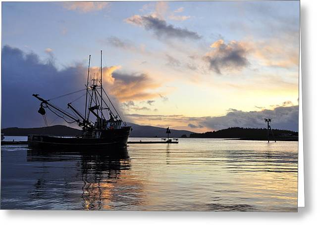 Greeting Card featuring the photograph Leaving Safe Harbor by Cathy Mahnke