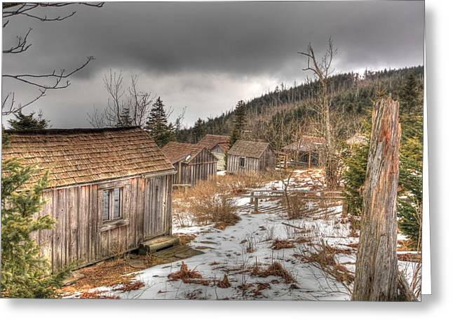 Leconte Lodge Greeting Card by Doug McPherson
