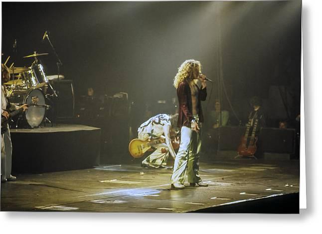 Led Zeppelin 2 Greeting Card