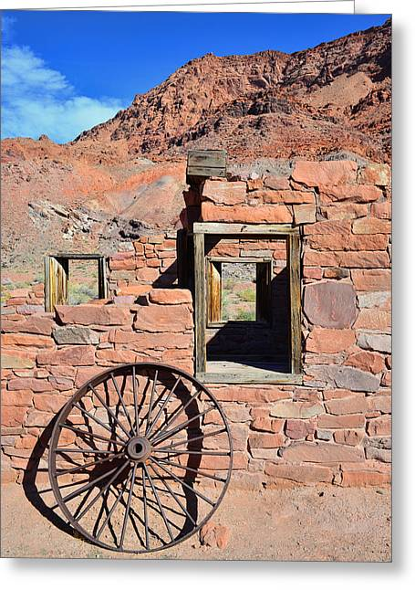 Lee's Ferry Az Greeting Card