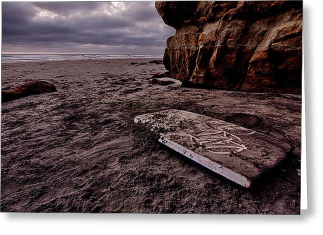 Left Behind And Forgotten Greeting Card by Peter Tellone