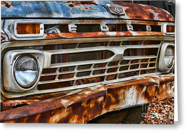 Left To Rust By Diana Sainz Greeting Card