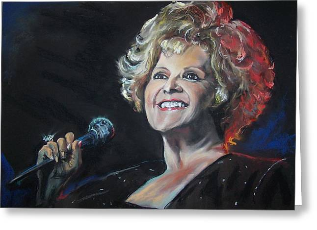 legend Brenda Lee Greeting Card
