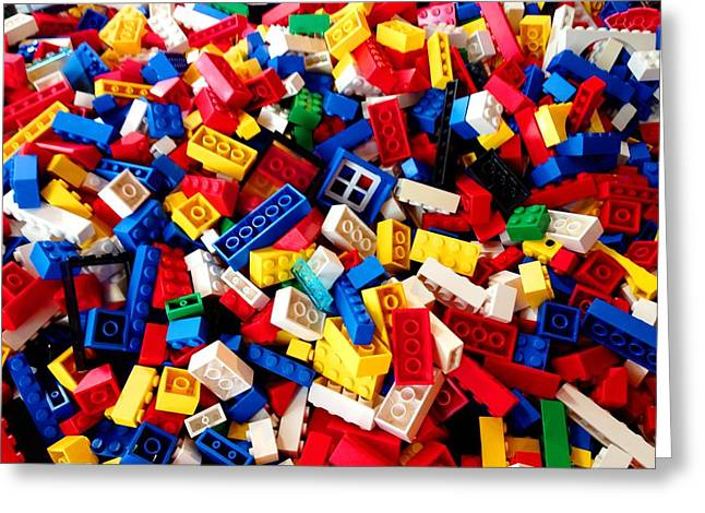 Lego - From 4 To 99 Greeting Card