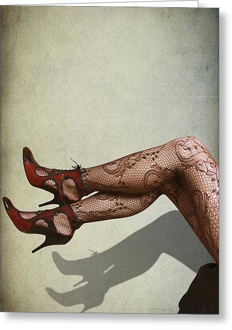 Legs Greeting Card by Svetlana Sewell