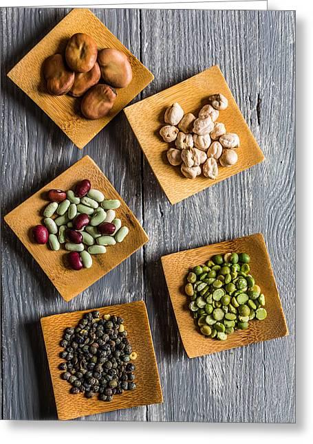 Legumes Greeting Card