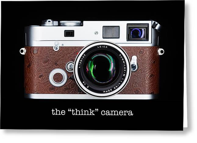 Leica M7 Greeting Card