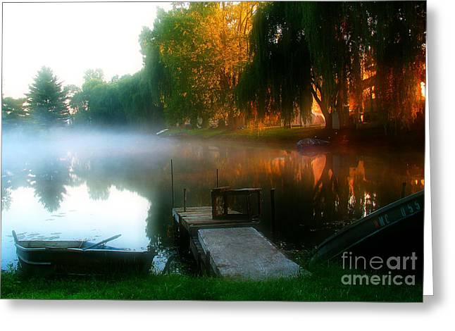 Leidy Lake Campground Greeting Card