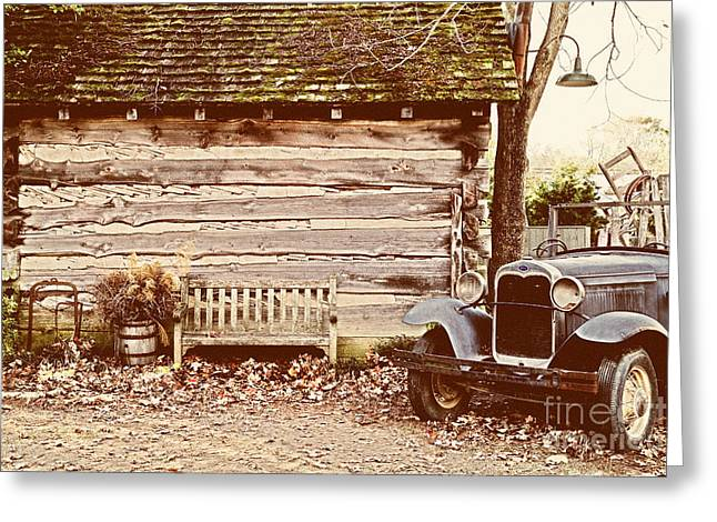 Leiper's Fork Greeting Card by Jeff Holbrook