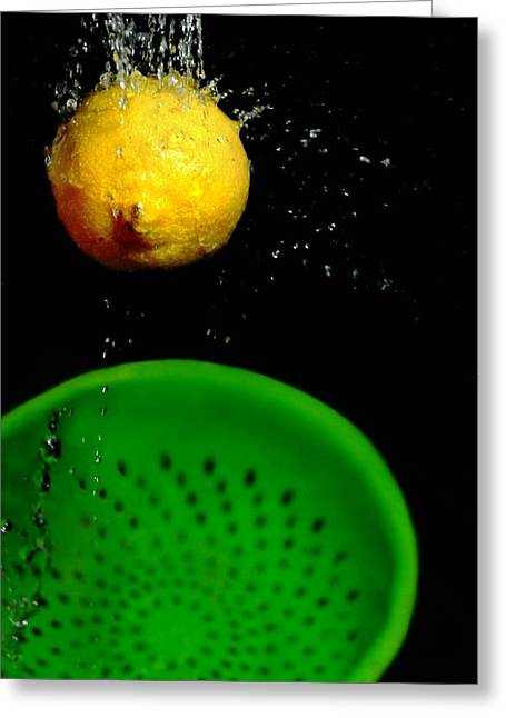 Lemon Drop Greeting Card by Diana Angstadt