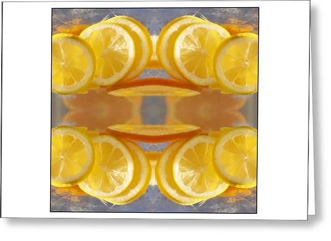 Lemon Drop Greeting Card by Don Powers