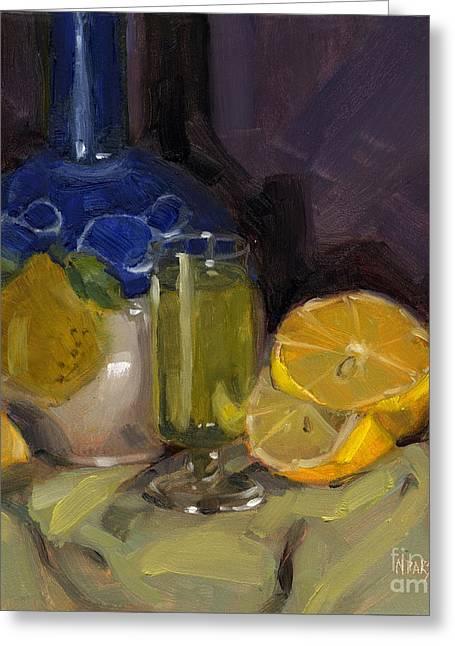 Lemon Light Greeting Card