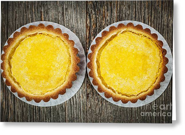 Lemon Tarts Greeting Card