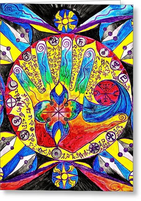 Lemuria Greeting Card by Teal Eye  Print Store