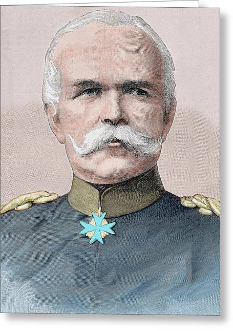 Leo Von Caprivi (caprivi Georg Leo Graf Greeting Card by Prisma Archivo