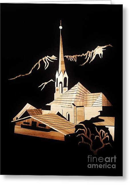 Leonhardi Church Greeting Card