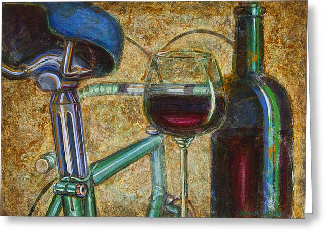 L'eroica Bianchi Chianti Greeting Card by Mark Jones