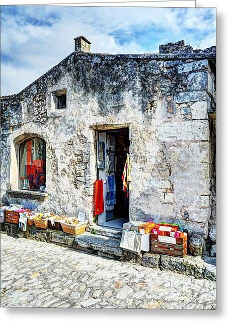 Les Baux De Provence 19 Greeting Card