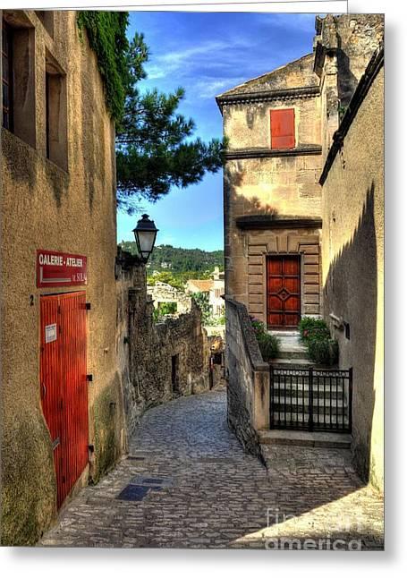 Les Baux De Provence 6 Greeting Card by Mel Steinhauer