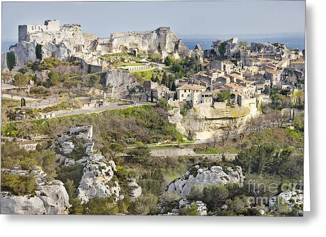 Les-baux-de-provence Greeting Card