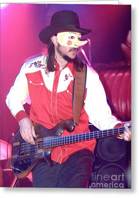 Les Claypool Greeting Card by Concert Photos