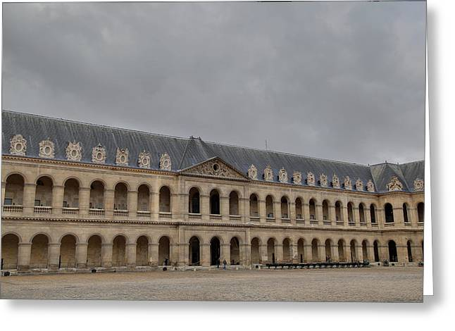 Les Invalides - Paris France - 011317 Greeting Card by DC Photographer