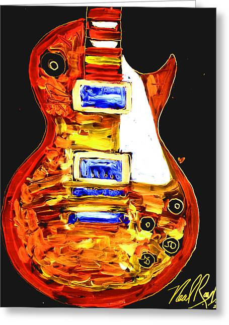 Les Paul 111 Greeting Card