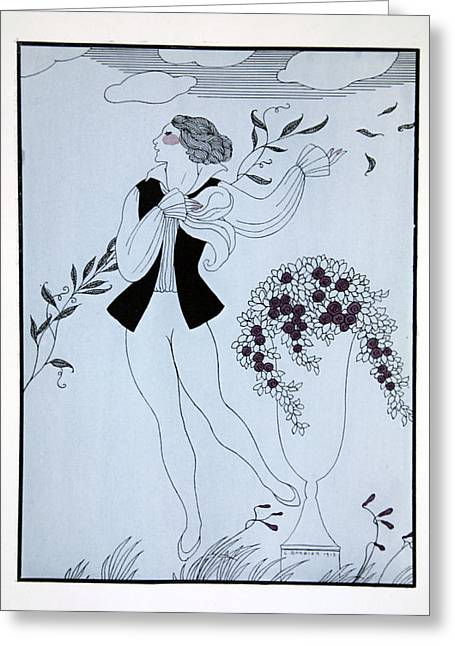 Les Sylphides Greeting Card by Georges Barbier