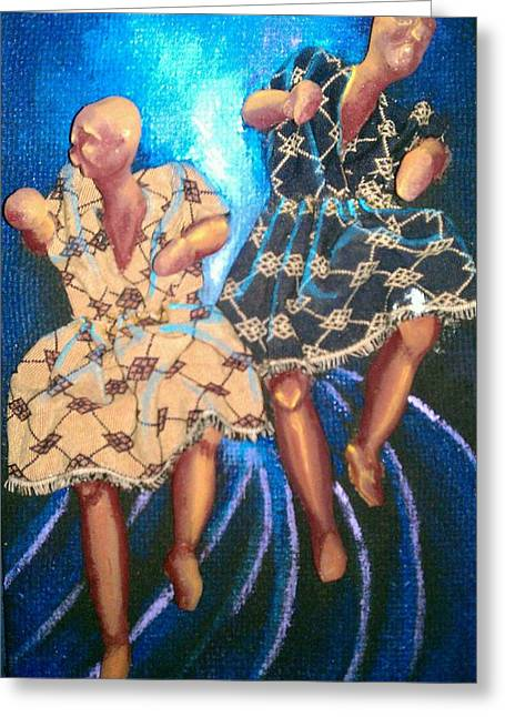 let Dance Greeting Card