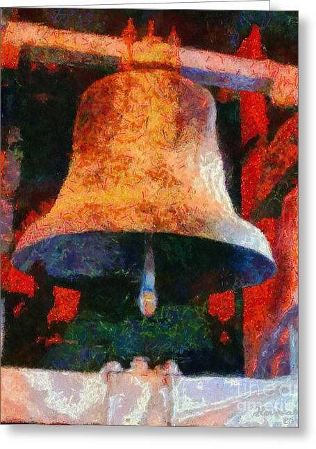 Let The Bells Sound Greeting Card