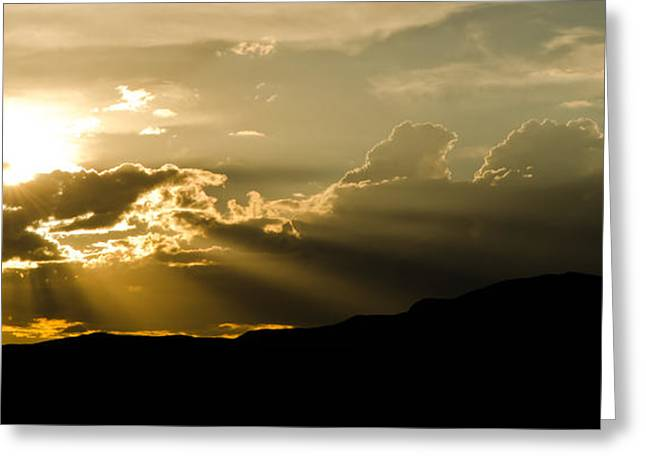 Let There Be Light Greeting Card by Nick  Boren