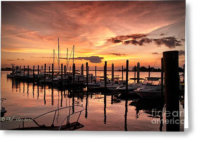 Greeting Card featuring the photograph Let Your Light Shine by Phil Mancuso
