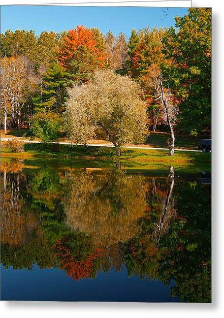 Letchworth Autumn Reflections Greeting Card