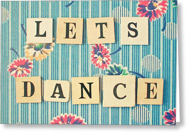 Let's Dance Greeting Card by Cassia Beck