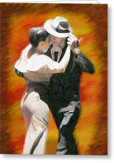 Let's Dance Greeting Card by James Shepherd