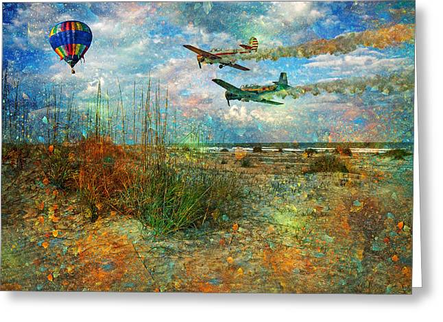 Let's Fly Greeting Card by Betsy Knapp