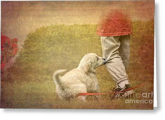 Let's Play Greeting Card by Jayne Carney