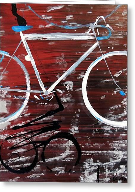 Let's Ride I Greeting Card by Vivian Mora