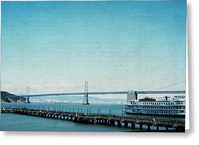 Greeting Card featuring the photograph Letters From San Francisco by Lisa Parrish