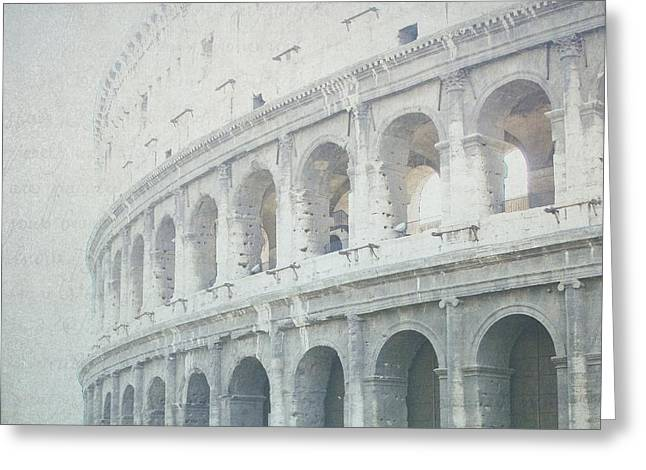 Letters From The Colosseum Greeting Card