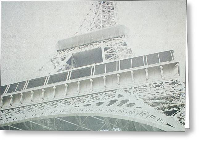 Letters From The Eiffel - Paris Greeting Card